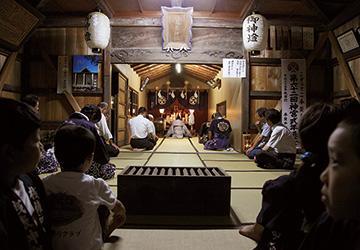 賀茂神社奉納